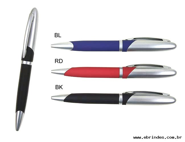 canetas de metal