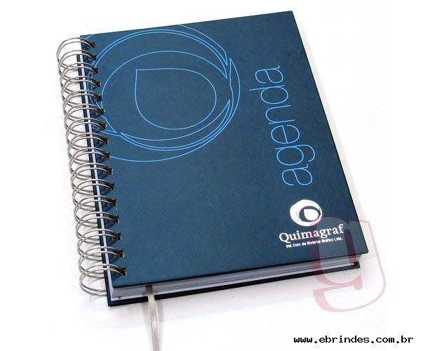 Cadernos e agendas personalizados