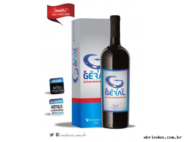 Vinho Personalizado + Embalagem Personalizada