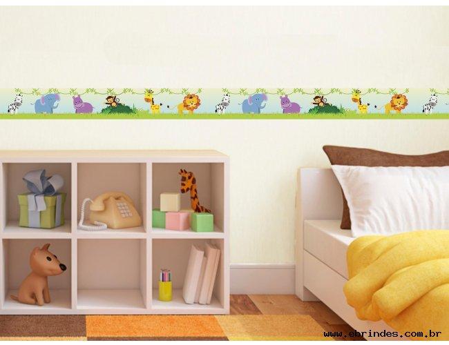 Faixa adesiva decorativa - Animais