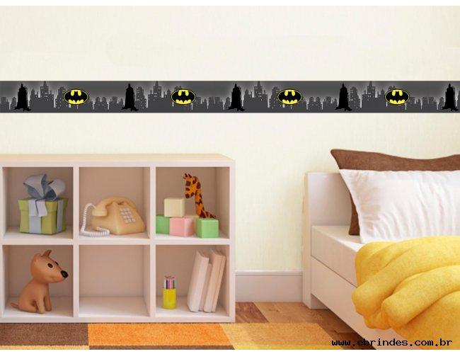 Faixa adesiva decorativa - Batman