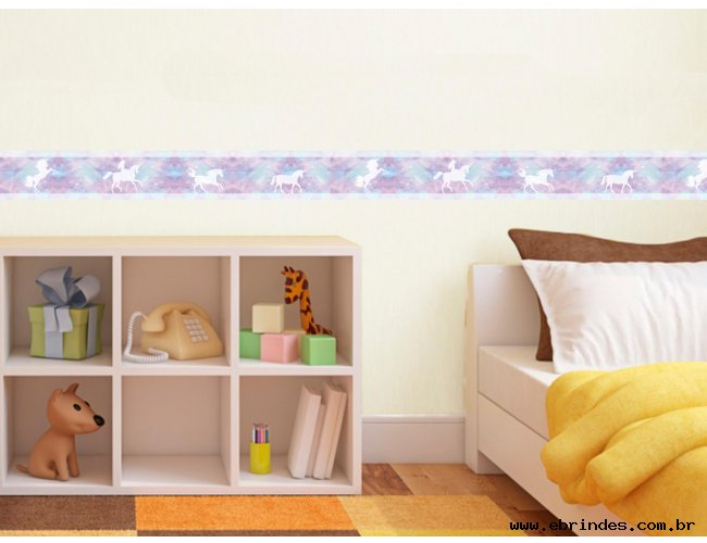 Faixa adesiva decorativa - Unicórnio 2