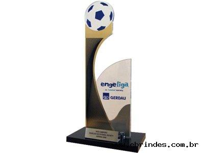 Troféu Corte a Laser - Tema Futebol