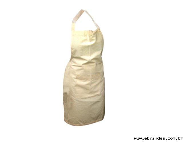 Avental confeccionado em tecido