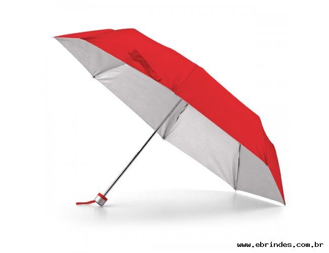 Guarda-chuva dobrável em 3 secções