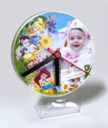 Relógio CD - mesa em acrilico