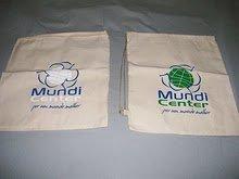 mochila de algodão / Ecobag