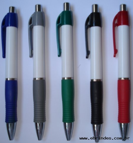 caneta plastica