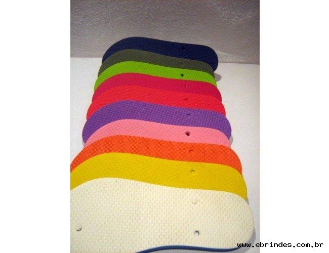 Essas são as cores de sandalias personalizadas que dispomos