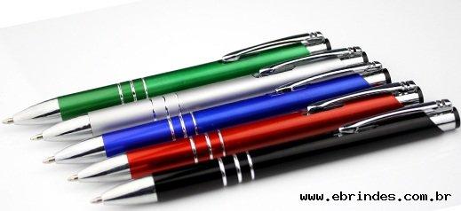 caneta metálica