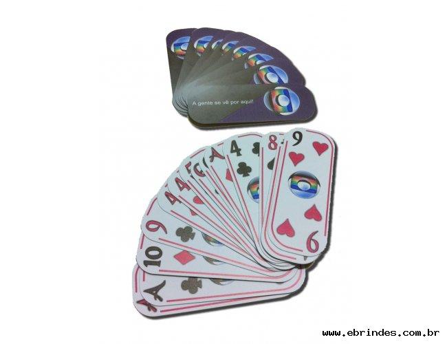Baralho Personalizado(54 cartas) - 8 x 3 cm - 4x4 cores
