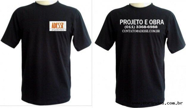 Camisetas, bonés e confecção em geral