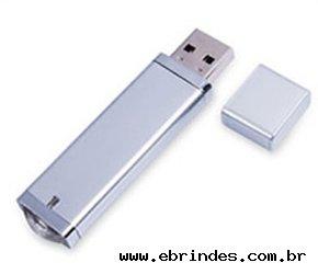 Pen Drive disponível para 2GB ou 4GB de memória