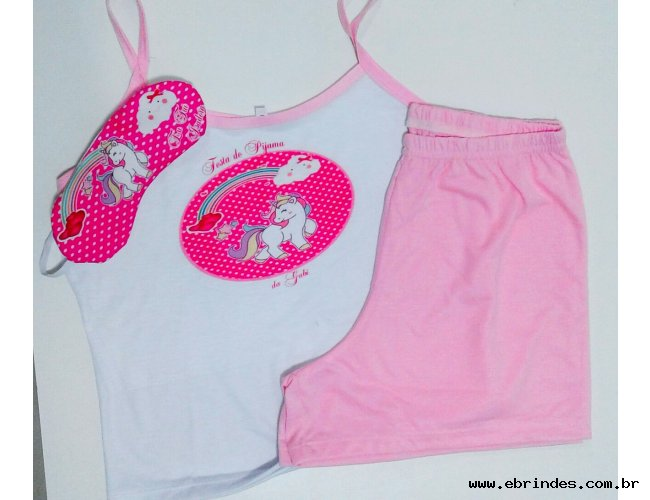 kit festa do pijama unicornio