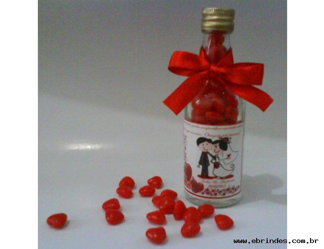 Mini garrafinhas de vidro pilulas do amor 50ml