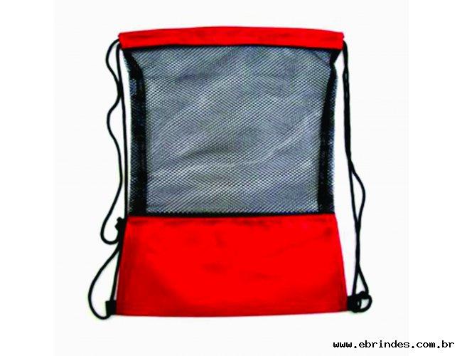 mochila com rede