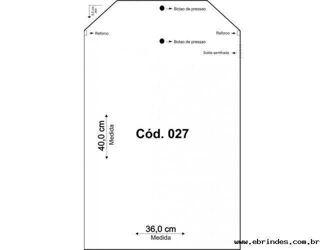 Embalagem PVC  36x40