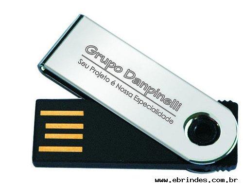 Mini pen drive 4 Gb de memória