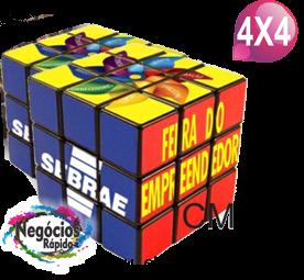 Cubo Mágico M Personalizado 4x4