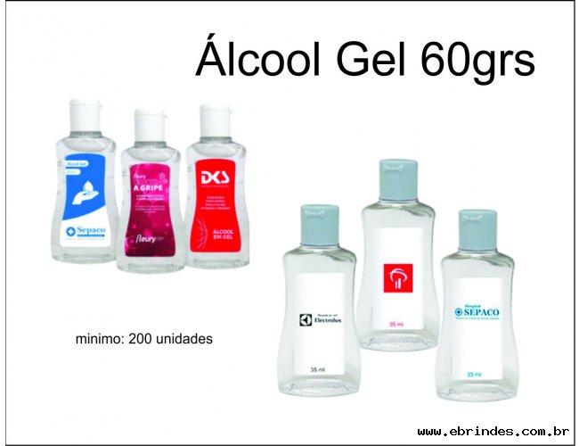 Álcool em gel 60grs
