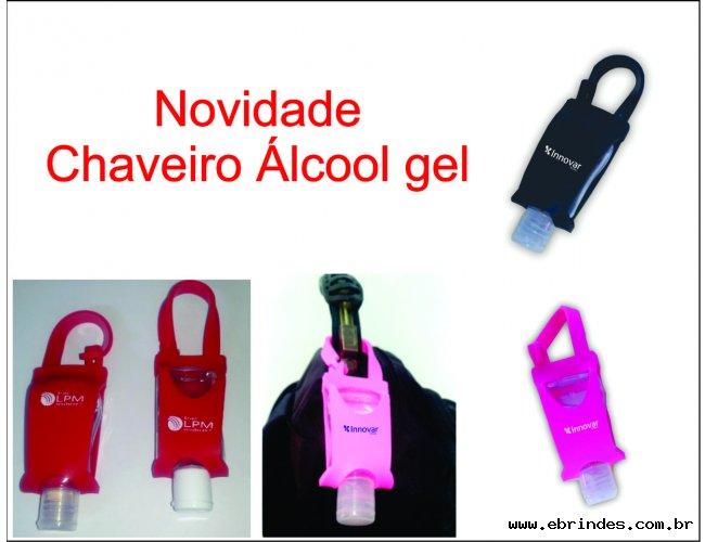 Chaveiro Álcool Gel