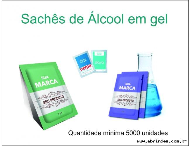 Sache Álcool Gel