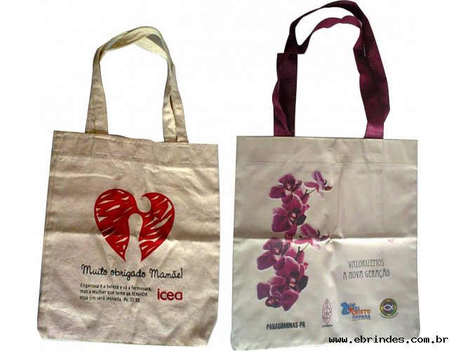 Ecobags e bolsas para eventos