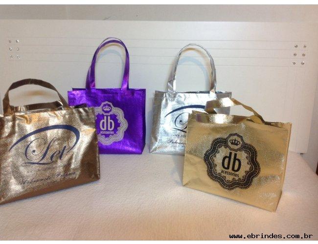 Bolsas laminadas e sacolas personalizadas