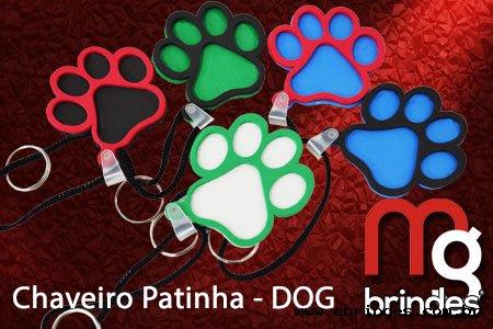 Chaveiro Patinha DOG